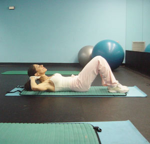 Lower Ab Crunches Exercise 1