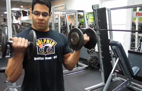 Build Your Arms with Dumbbell Bicep Curl Exercise
