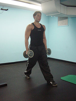 lunges exercise 1