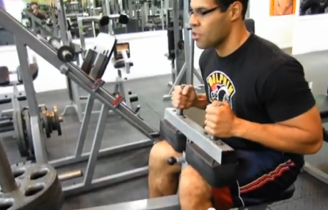 Leg Exercise: Seated Calf Raise