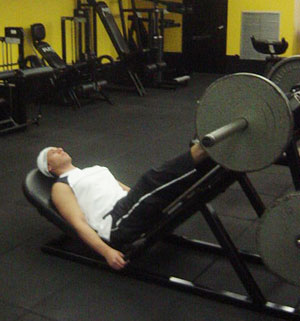 45 Degrees Leg Press Exercise 1