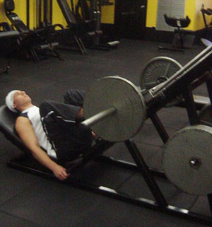 45 Degrees Leg Press Exercise 2