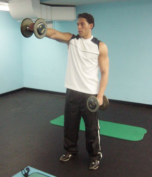Front Lateral Raise Exercise 2