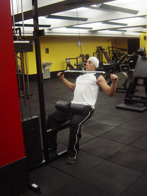 Lat Machine Pulldowns Exercise 2