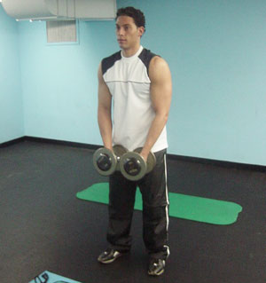 Lateral Raise Exercise 1