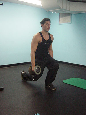 lunges exercise 2