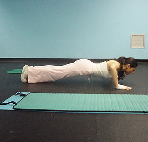 Push Ups Exercise 2